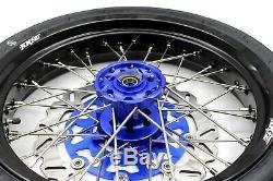 Kke 3.5/4.25 Cst Tire Fit Suzuki Drz400sm 2005-2018 Supermoto Wheels Set Bluehub