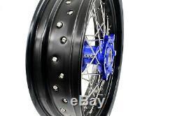 Kke 3.5/4.25 Supermoto Cush Drive Wheel Set Fit Suzuki Drz400sm Drz400 Drz400s/e
