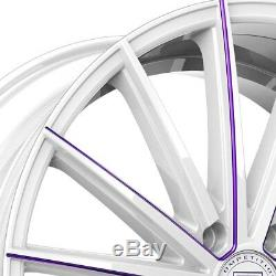Lexani PEGASUS 1PC Wheels 22x9 (40, 5x114.3, 74.1) Silver Rims Set of 4