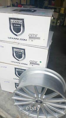 Lexani PEGASUS Wheels 22x9 Silver Rims Set of 4