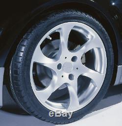 Lorinser Light alloy wheel set Speedy Black 7,0x17 + 8,5x17 Smart Roadster