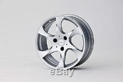 Lorinser Speedy SMART ROADSTER 452 Silver Set of alloy rims 17-Inch