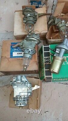 Lot of 18 NOS vintage fuel pumps