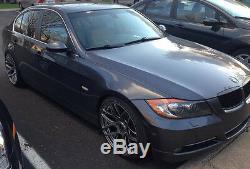 MRR GF9 19x8.5/19x9.5 5x120 +35/40 Silver Wheels Rims Set Fit BMW F32 428i 435i