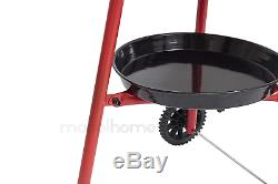 Mabel Home Paella Pan + Paella Burner and Stand Set on Wheels + Complete Paella
