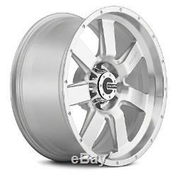 Mamba M14 Wheels 17x9 (12, 6x139.7, 106.1) Silver Rims Set of 4