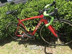 Masi Evolution Edition Ultegra 51cm Small Road Bike, Skyrium Wheel Set 11sp