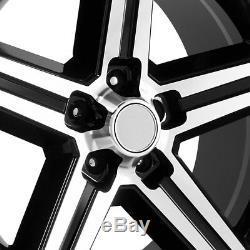 OE Creations 148 Wheels 18x8 (+0, 5x120.65, 73.1) Black Rims Set of 4