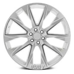 OE Revolution C-14 Wheels 24x10 (31, 6x139.7, 78.1) Silver Rims Set of 4