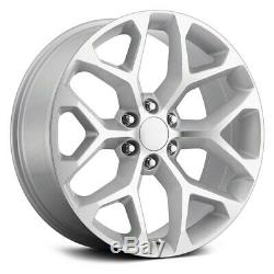 OE Revolution G-09 Wheels 26x10 (31, 6x139.7, 78.1) Silver Rims Set of 4