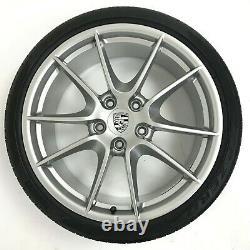 Porsche 991 C2 C2S Carrera S (III) 20 Alloy Wheels + Pirelli P Zero Tyres