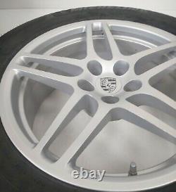 Porsche Macan 18 Alloy Wheels & Michelin Latitude All Season Winter M&S Tyres