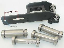 Pulley Wheel Belt Grinder Small Wheel Holder Set Fits Smart Grinder S1, L1