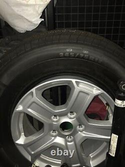 SET OF 5 Michelin Tires JEEP WRANGLER JL 17 FACTORY WHEELS AND TIRES