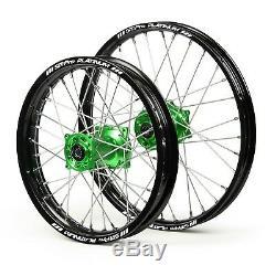SM PRO Motocross wheel set for KAWASAKI bike KX 125/250 and KXF 250/450 new