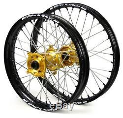SM PRO Motocross wheel set for SUZUKI bike RM and RMZ and DRZ brand new