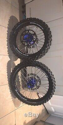 SM PRO Motocross wheel set for YAMAHA bike YZ and YZF and WR an WRF new