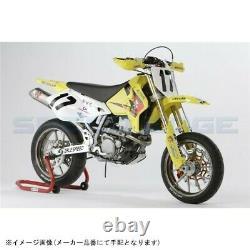 SUZUKI Motorcycle parts DR-Z400SM Front-Rear Aluminum Forged Wheel set White F/S