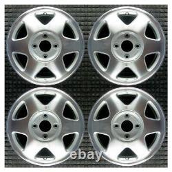 Set 1992 1993 Honda Accord OEM Factory 42700SM2A01 3910486 15 Wheels Rims 63731