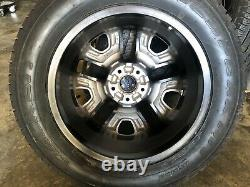 Set of 4, 17 Jeep Compass Trailhawk Wheels and Tires, Like New Factory OEM