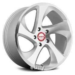 Shift STRUT Wheels 17x8 (35, 5x114.3, 73.1) Silver Rims Set of 4