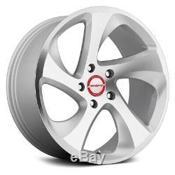 Shift STRUT Wheels 18x8.5 (35, 5x114.3, 73.1) Silver Rims Set of 4