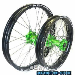 Sm Pro Platinum Motocross Wheel Set 19 21 Kawasaki Kxf 450 Kx 450f 2009 2018