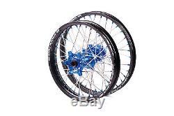 Sm Pro Platinum Motocross Wheel Set Yamaha Yz Yzf Front 21x1.60 Rear 19x1.85