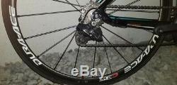 Small Felt ZW5 carbon race bike, Dura Ace Di2, carbon Dura Ace wheelset