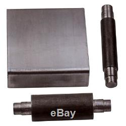 Steel Small Wheel Holder for 2x72 belt grinders & A Set of 5 Small Wheels