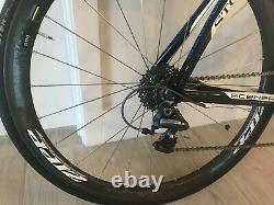 Storck Scenero carbon 50cm. Full Dura-Ace. Zipp 303 tubular wheel set