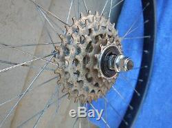 Suntour XC Vintage 26/24 Mountain BMX Bike Wheelset Wheels Cannondale SM500