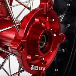 Supermoto Wheels Set & Rotors For Honda XR650l XR 650 L 17 inches 1997-2012