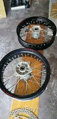 Suzuki Drz 400 Sm Felgen / Wheel set Excel