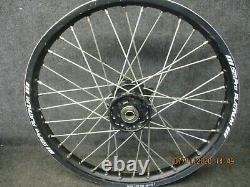 Suzuki RMZ250 RMZ450 2010-2020 Used Sm Pro 21 + 19 Black wheel set RM3793