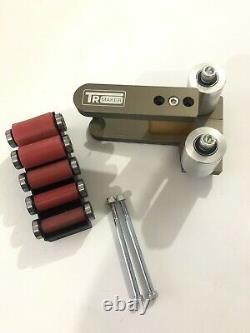TR Maker Belt Grinder 2x72 small wheel rubber set & holder for knife grinders