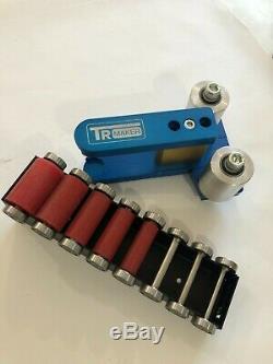 TR Maker Belt Grinder 2x72 small wheel set & holder for knife grinders Rubber PP