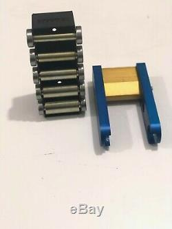 TR Maker Belt Grinder 2x72 small wheel set & holder for knife grinders kit BLUE