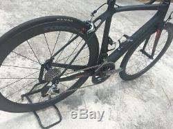 Trigon RC1 Carbon Road Bicycle, Small 49cm, Token Carbon Wheelset, SRAM eTap