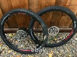 WTB wheelset 650b gravel small knobbies