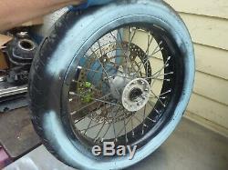 Wheels set front rear DRZ400SM drz 400 sm 06 07 08 09 s e 12 -17 Suzuki #EE23