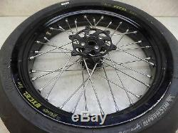 Yamaha WR 450 Excel Supermoto SM Wheel Set WR 250 450 Front Rear