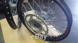 Yamaha YZ250F 2014 2018 Genuine Wheel Set Excel Rims Yamaha Hubs