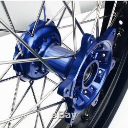 05-17 Suzuki Drz400sm 17 Supermoto Complet Train De Roulement Jantes Moyeux Rotors Support
