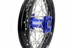 14 12 Petit Jeu De Jantes Enfant Spoked Wheel Fit Yamaha Dirtbike Yz65 2019 Cnc Hub