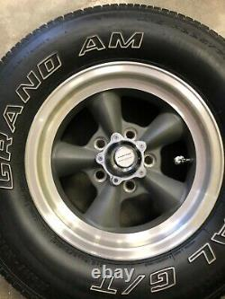 14 American Racing Torq Thrust Jantes / Multi-mile Grand Am Pneus Set
