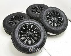 17 Ford Ranger Noir Brillant Jantes Duratrac Pneus Usine Oem Set 10230