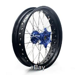 17 Supermoto Wheel Set Pour Suzuki Drz 400 00-04 Drz400s / E 00-07 05-18 Drz400sm