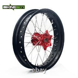 17 X 3.5 Pour Suzuki Front Wheel Rim Hub Set Drz400sm 05-18 Drz400 S E Drz 400