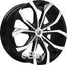 17x8 Advanti Racing 79s Tempête S1 Hyper Argent Roues 4x108 (45mm) Jeu De 4